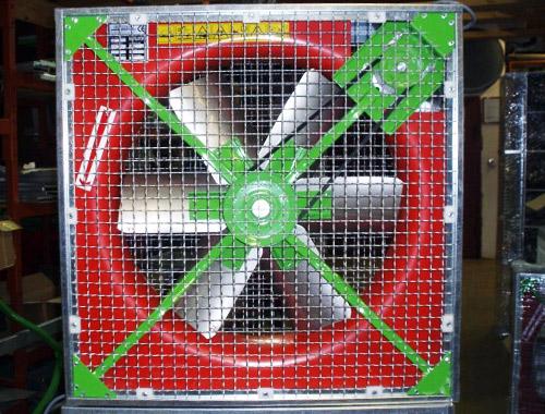 Hlevski prezračevalni ventilator