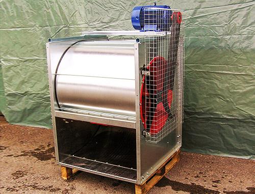 Ventilatorji za dosuševanje sena in okroglih bal